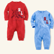 wholesale girls  brand name clothing-POLO ROMPER