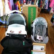 Orbit Baby 2012 Stroller Travel System G2 with Bassinet Cradle G2 Moc